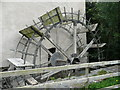 S4943 : Undershot water wheel, Hutchinson's Mill, Kells by Humphrey Bolton