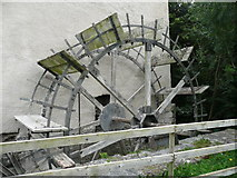 S4943 : Undershot water wheel, Hutchinson's Mill, Kells by Humphrey Bolton