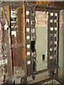 TG0318 : The old electricity substation (bank of fuses) by Evelyn Simak
