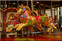 TQ2679 : Gallopers at the Natural History Museum by Peter Trimming