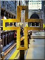 SJ8398 : Manchester Cathedral Quire Cross by David Dixon