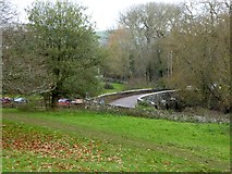 SS9701 : Ellerhayes Bridge on the edge of Killerton Park by David Smith
