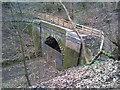 SJ8453 : North portal of disused Harecastle South railway tunnel by Jonathan Hutchins