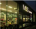 SX8966 : M&S food hall entrance, The Willows by Derek Harper