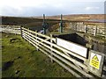 NZ0246 : Sluice gate at Hisehope Reservoir by Oliver Dixon