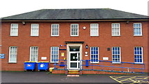 SO5923 : Ross-on-Wye police station by Jonathan Billinger