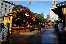 SE2934 : The German Market at Millennium Square, Leeds by Ian S