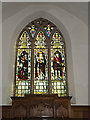 TM3968 : Stained Glass Window of St.Peter's Church by Adrian Cable