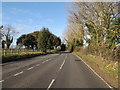 TM4366 : B1122 Leiston Road, Theberton by Adrian Cable