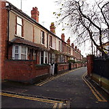SO8455 : Infirmary Walk houses, Worcester by Jaggery