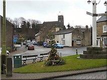 SJ9995 : The Embarrassment of Mottram Christmas Tree by Gerald England