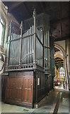 SK7953 : Organ, St Mary Magdalene church, Newark by Julian P Guffogg