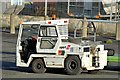 J3775 : Airport tractor, George Best Belfast City Airport (December 2014) by Albert Bridge