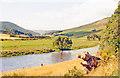 NT3136 : Upstream on River Tweed near Innerleithen, 1988 by Ben Brooksbank
