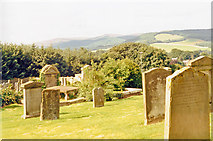 NT4728 : Selkirk: Ettrick Valley from Kirk of the Forest, 1988 by Ben Brooksbank