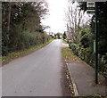 SO5208 : Pentwyn Cross bus stop, Penallt by Jaggery