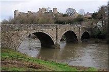 SO5074 : Dinham Bridge and Ludlow Castle by Philip Halling