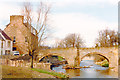 NT6520 : Jedburgh: the Old Bridge over River Tweed, 1989 by Ben Brooksbank