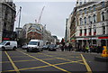 TQ3181 : A201, Farringdon Rd by N Chadwick