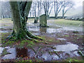 NH7544 : Clava Cairns -  Sunset on Midwinter's  Day by Julian Paren