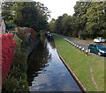 SJ2937 : West along the Llangollen Canal from Chirk Bank Bridge by Jaggery