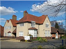 TF0920 : The Galletly Medical Practice in North Road, Bourne, Lincolnshire by Rex Needle