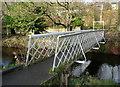 SE1312 : Footbridge over Mag Brook by Humphrey Bolton