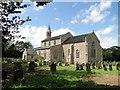 TL9592 : Holy Trinity church, Great Hockham by Adrian S Pye