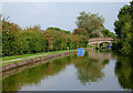 SJ9381 : Macclesfield Canal near Wood Lanes, Cheshire by Roger  Kidd