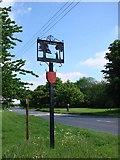 TM0652 : Barking (Suffolk) village sign by Adrian S Pye