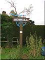 TM3861 : Benhall village sign by Adrian S Pye