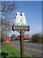 TM3489 : Bungay town sign by Adrian S Pye
