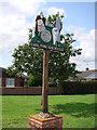TM5189 : Carlton Colville village sign by Adrian S Pye