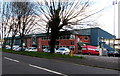 SS9080 : West side of the Brewery Field stadium, Bridgend by Jaggery