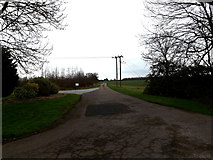 TL2056 : Entrance to Abbotsley Golf Club by Adrian Cable