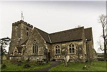 TQ4655 : St Martin's church, Brasted by J.Hannan-Briggs