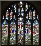 TQ4655 : East Window, St Martin's church, Brasted by Julian P Guffogg