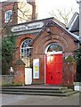 TQ2887 : Highgate Society premises by Julian Osley