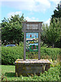 TM5299 : Hopton-on-Sea village sign by Adrian S Pye