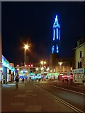 SD3035 : Blackpool: Central Drive, Houndshill Shopping Centre and the Tower by David Dixon