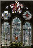 TQ4655 : Stained glass window, St Martin's church, Brasted by Julian P Guffogg