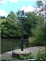 TM5099 : Lound village sign by Adrian S Pye