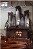 TQ4655 : Organ, St Martins church, Brasted by Julian P Guffogg