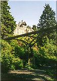 NU0702 : The Iron Bridge, Cragside by David P Howard