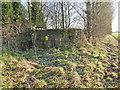 TG0826 : WW2 hexagonal pillbox in Wood Dalling churchyard by Adrian S Pye