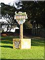 TG1024 : Salle village sign by Adrian S Pye