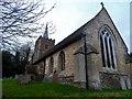 TL3250 : St Nicholas' church, Arrington by Bikeboy