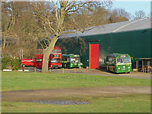 TQ0762 : London Bus Museum, Brooklands by Alan Hunt