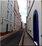 SM9515 : West along Dark Street, Haverfordwest by Jaggery