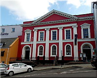 SM9515 : Haverfordwest Shire Hall by Jaggery